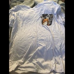 Ripndip men's large cat pocket shirt